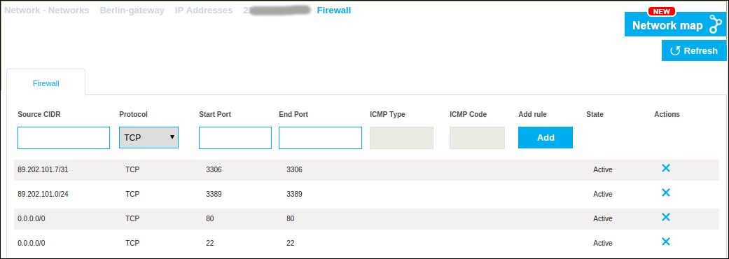 How To Manage Firewall Rules For Your Vdc Interoute Cloudstore